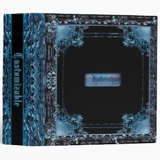 Habersham Saphire Customizable 3 Ring Binder