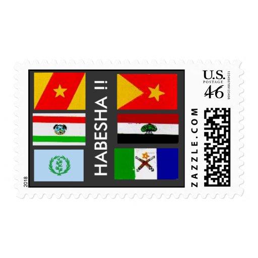 HABESHA POST STAMP (ETHIOPIA)