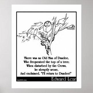 Había un viejo hombre de Dundee Impresiones