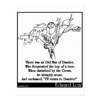 Había un viejo hombre de Dundee Tarjetas Postales