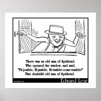 Había un viejo hombre de Spithead Poster