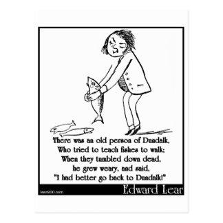Había una persona mayor de Dundalk Postales