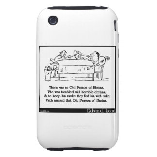 Había una persona mayor de Reims Carcasa Resistente Para iPhone
