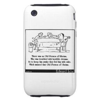 Había una persona mayor de Reims iPhone 3 Tough Carcasa