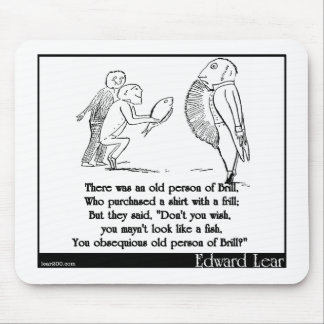 Había una persona mayor del rodaballo tapete de raton