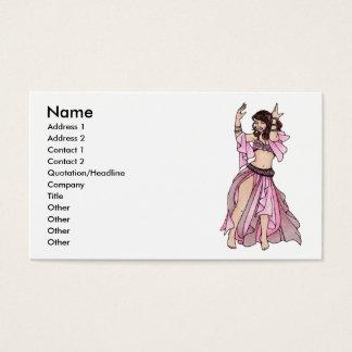 Habibi Belly Dancer Business Cards