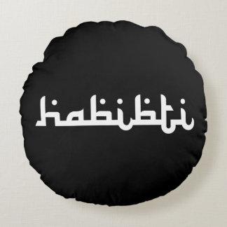 Habibti artístico cojín redondo
