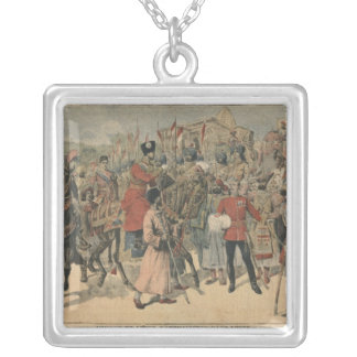 Habibullah Kahn  Emir of Afghanistan Silver Plated Necklace