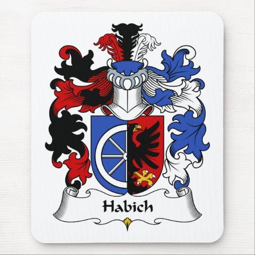 Habich Family Crest Mouse Pad
