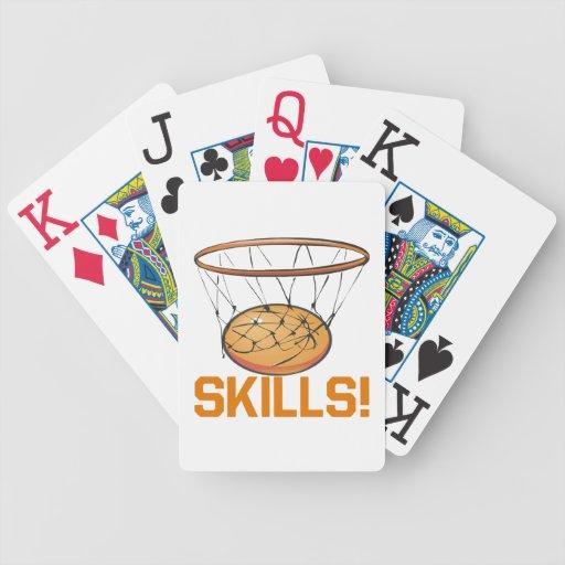 Habilidades 8 baraja cartas de poker