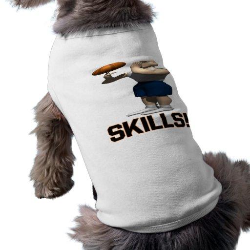Habilidades Camisetas De Mascota