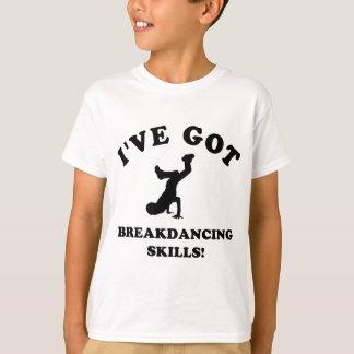 habilidades frescas del breakdance playera