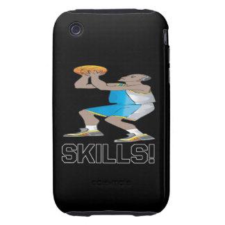Habilidades Tough iPhone 3 Cárcasa