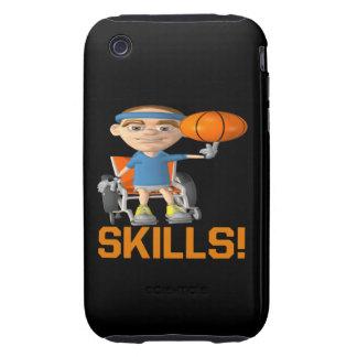 Habilidades iPhone 3 Tough Cárcasas