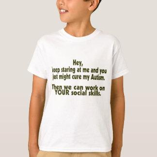 Habilidades sociales del autismo remera