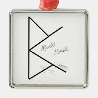 Hability metal metal ornament