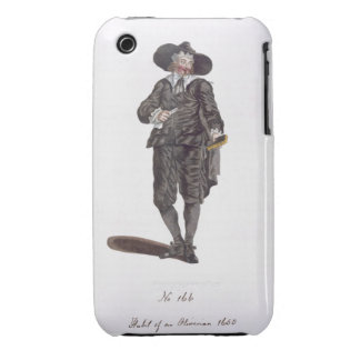 Habit of an Oliverian, 1650 (engraving) iPhone 3 Case-Mate Case