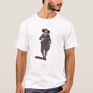 Habit of an Oliverian, 1650 (engraving) T-Shirt
