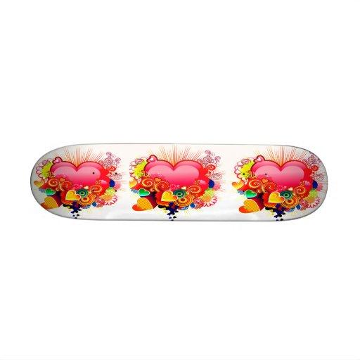 Habit of love_ Skateboard Custom Skate Board