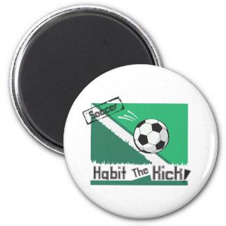 Habit the kick 2 inch round magnet
