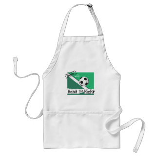 Habit the kick adult apron