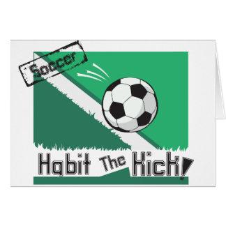Habit the kick card