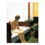 Habitación de Edward Hopper Membrete Personalizado