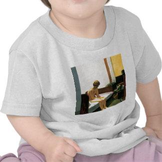Habitación de Edward Hopper Camisetas