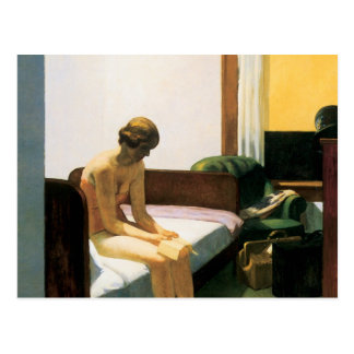 Habitación de Edward Hopper Postal
