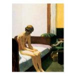 Habitación de Edward Hopper Tarjetas Postales