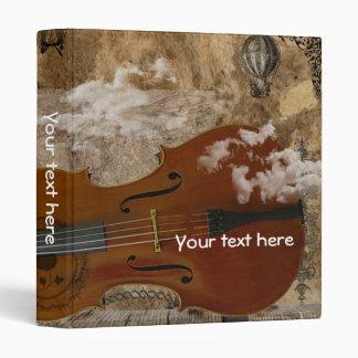 Habitación de Steampunk del violoncelo