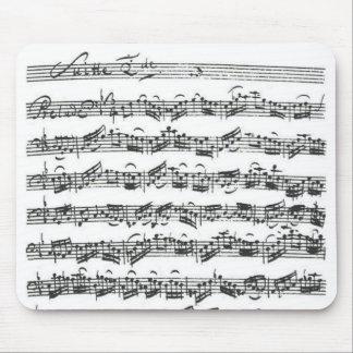 Habitación del violoncelo de Bach Alfombrillas De Ratón