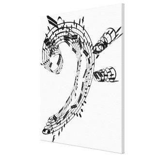Habitación del violoncelo de J.S.Bach Impresión En Lienzo