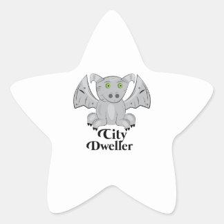 Habitante de ciudad colcomanias forma de estrellaes personalizadas
