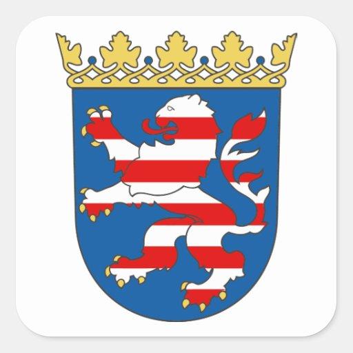 Habitante de hesse escudo de armas