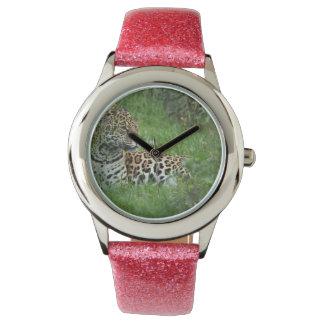 Hábitat de Jaguar Relojes De Mano