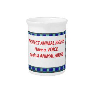 Hábitat de vida de los Derechos-Healty animales en Jarra