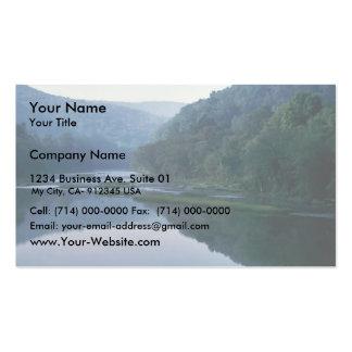 Hábitat en peligro del mejillón tarjeta de visita