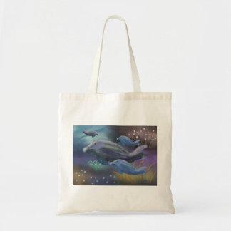 Hábitat marino bolsa tela barata