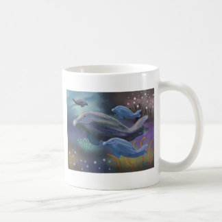 Hábitat marino taza clásica