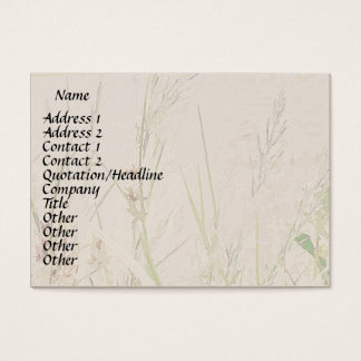 Habitat Wetlands Coastal Grasses Profile Card