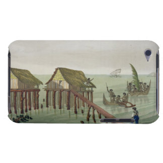 Habitations of the Papu Tribe, Rawak, plate 22 fro iPod Touch Cases