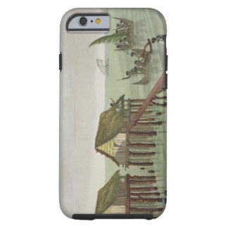 Habitations of the Papu Tribe, Rawak, plate 22 fro Tough iPhone 6 Case