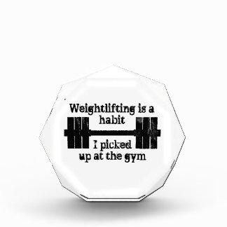 Hábito del levantamiento de pesas