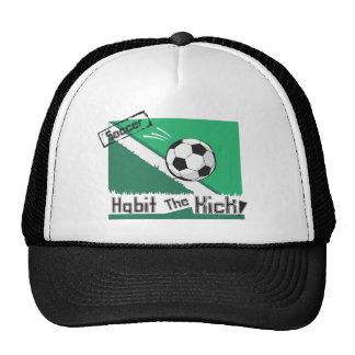 Hábito el retroceso gorras