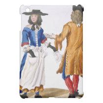 Habits of Ballad Singers, c.1675 (coloured engravi Cover For The iPad Mini