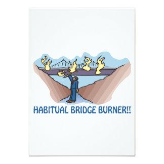 Habitual Bridge Burner Card