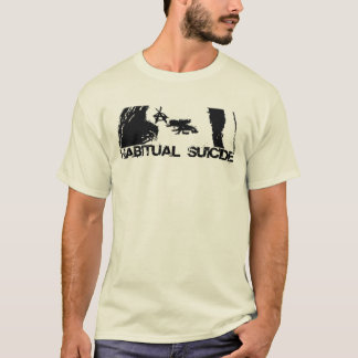 Habitual Suicide Anarchy eyes T-Shirt
