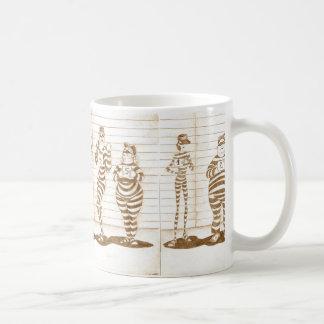 Habitual suspects coffee mug
