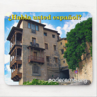 ¿Habla usted español? Old Town, Spain Mouse Pad